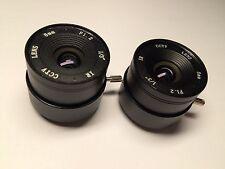 """CCTV Lens4Pcs/1lot F1.2 1/3"""" 6/8/12/16mm HD CS lens for Security Box CCTV Camera"""