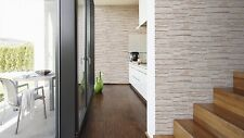 VINYL TEXTURED LARGE STONE BRICK WALL FEATURE WALLPAPER A.S.CREATION 6621-25
