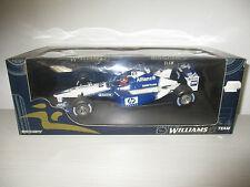 WILLIAMS F1 team BMW FW24 MONTOYA 2° alf of season 2002 MINICHAMPS SCALA 1:18