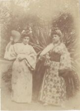 Snapshot Japon style Mode Photographie Famille Vintage Argentique ca 1900 N3
