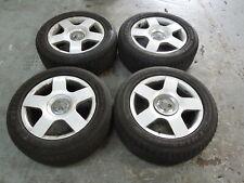 """Audi A4 B6 Set of 4 16"""" 5 Arm Alloy Wheels #5 8E0601025C"""