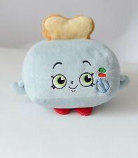 SHOPKINS BLUE TOASTY TOASTER PLUSH DOLL Stuffed Toy Animal