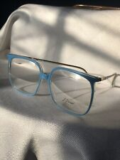 Vintage Eyeglasses Retro D203 Sky Blue Revue Eyeglasses
