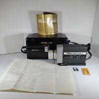 Vintage NIKON SUPER ZOOM - 8  Camera with Case & Manual Untested