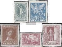 Ungarn 369-373 (kompl.Ausg.) postfrisch 1923 Sandor Petofi