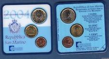 Saint Marin 2004 Triptick 1 Euro + 10 Cents + 1 Cent BU FDC 180000 exemplaires -
