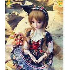 1/3 BJD Doll SD Dollfie DZ DOD LUTS Rozen Maiden Outfit Clothes Headband Set