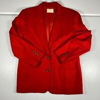 Vintage Pendleton Blazer Womens Size 12 100% Wool Made in USA Jacket Coat Ladies
