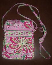 Vera Bradley pink cross-body bag
