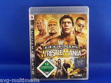 WWE Legends Of Wrestlemania (Sony PlayStation 3, 2009)