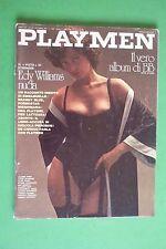 PLAYMEN ottobre 10/1974 BRIGITTE BARDOT EDY WILLIAMS GERARD DEPARDIEU KISSINGER.