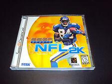 "NFL 2K (Sega Dreamcast, 1999) Complete ""Great Condition"""