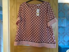NEW  marks & spencer  size 24 blouse top....rp £ 25