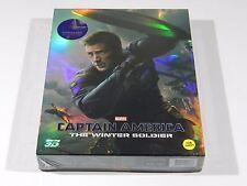 Captain America The Winter Soldier (3D+2D) Blu-ray Steelbook KimchiDVD #380/1350