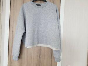 Ladies sweatshirt size 12 used primark crop top style