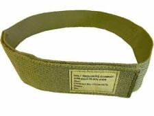PCS Combat Trouser Belt British Army Light Olive ~ Velcr0 Closure ~ New S to XL