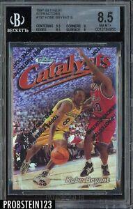 1997-98 Topps Finest Refractor #137 Kobe Bryant Lakers HOF /1090 BGS 8.5 w/ 9.5