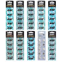 10Pcs AG0~AG13 LR41 LR626 SR1130 SR621 Alkaline Button Cell Coin Battery