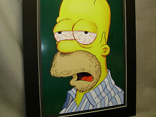 Homer Simpson after a hard night celebrate 20 Anniversary  poster special offer