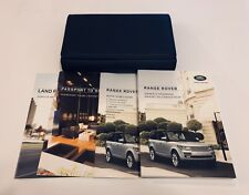 Range Rover Owners Manual Set And Holder LRL180261162