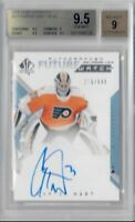 2018-19 UD SP Authentic Carter Hart Future Watch Auto BGS 9.5 GEM MINT True RC