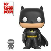 BATMAN FUNKO POP 01 SUPER SIZED 50 CM GRANDE FIGURE FILM FUMETTI DC COMICS