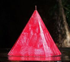 1KG 150hr BOYSENBERRY Triple Scented 4 SIDED PYRAMID CANDLE Christmas fruits
