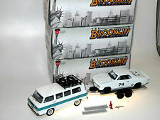 Brooklin BRK 213x, Chevrolet Corvair Greenbrier + Yenko Stinger Racing Set 1/43