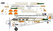 Orange Blossom Beech 18 C-45 decals for Pioneer 2 1/72 scale