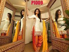 15 Indian Bollywood Ethnic Designer Anarkali Salwar Kameez Suit P-1009