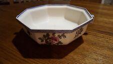 """Antique Royal Doulton Plate Bowl Lion over Crown Octogan Bowl 8.75"""" Handles"""