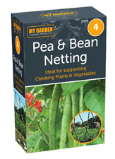 Pea & Bean Netting Protection for Spring Garden Climbing Plants Vegetable Patch