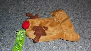 Brand New Pet Holiday Cat Reindeer Hat For Cocker Spaniel Rescue Charity