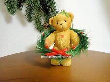 Cherished Teddies Ornament 2003 Holiday Hanging Nib