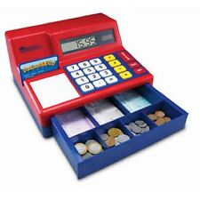 Pretend & Play Calculator Cash Register with UK Money, Learning Resources