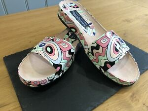 Stuart Weitzman for Russell & Bromley open toed mules size 6