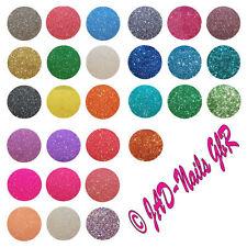 15 x Nailart Glitter Glitzer Glitterpuder Glitzerstaub /  Basteln im Tütchen