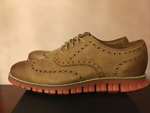 Men's Cole Haan ZEROGRAND Wing Oxfords Shoes.