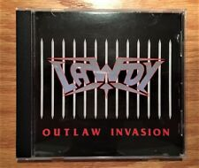 Lawdy - Outlaw Invasion + 3 (Rare Original Japan CD) Hair Metal - Racer X - Kiss