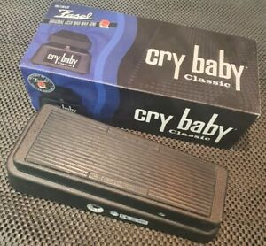 Cry Baby Classic Wah GCB95F Fasel Dunlop Guitar Pedal