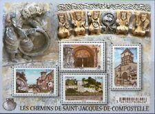 FEUILLET F 4949 TIMBRES 4949-4952 NEUF XX - CHEMINS DE ST JACQUES DE COMPOSTELLE