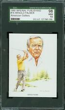 1990 IMPERIAL PUBLISHING # 14 ARNOLD PALMER SGC-10 SOLO FINEST GRADED .