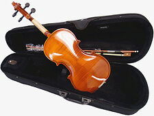 Beautiful 1/2 Student Violin +Case +Bow +Rosin +String Set /Flamed back Looking