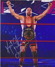 Kurt ANGLE Signed TNA Champion 8x10 Photo