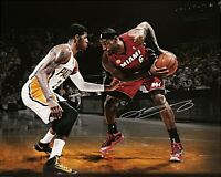 LeBron James Autographed Signed 8x10 Photo ( Heat ) REPRINT
