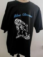 BLUE DREAM GRAPHIC T-SHIRT MEN'S SIZE XL BLACK/BLUE/WHITE