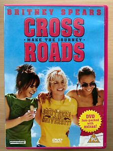 Crossroads DVD 2002 Feature Film Musical Teen Movie with Britney Spears