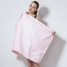 Towel Fast Dry-off Swimming Water Sports Gym Beach Pool Bathing Pink 376353