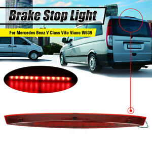 For Mercedes Benz Vito W639 Rear High Level Tailgate 3rd Brake Light Stop Lamp