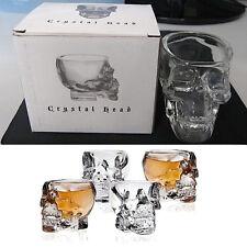Bones Armor Warrior Skull Designed High Wine Glass Cup Mug Barware Drinkware